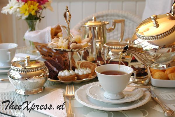 high tea pakketten van theexpress