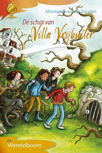 Omslag De schat van Villa Vrijbuiter