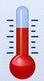 thermometer altijd 24 graden
