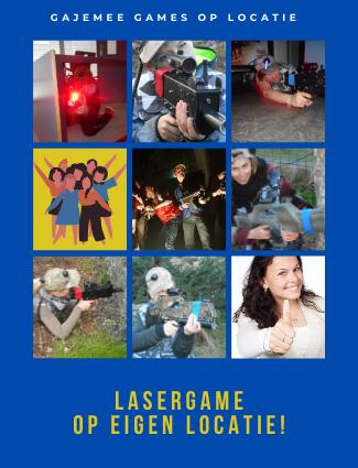 Lasergame op eigen locatie
